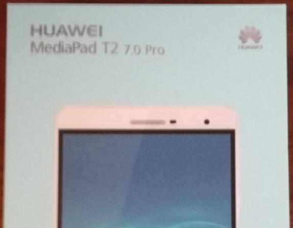 Huawei MediaPad T2 7.0 Pro購入