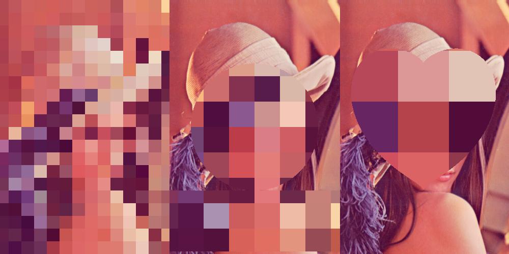GLSLで画像のぼかし、モザイク
