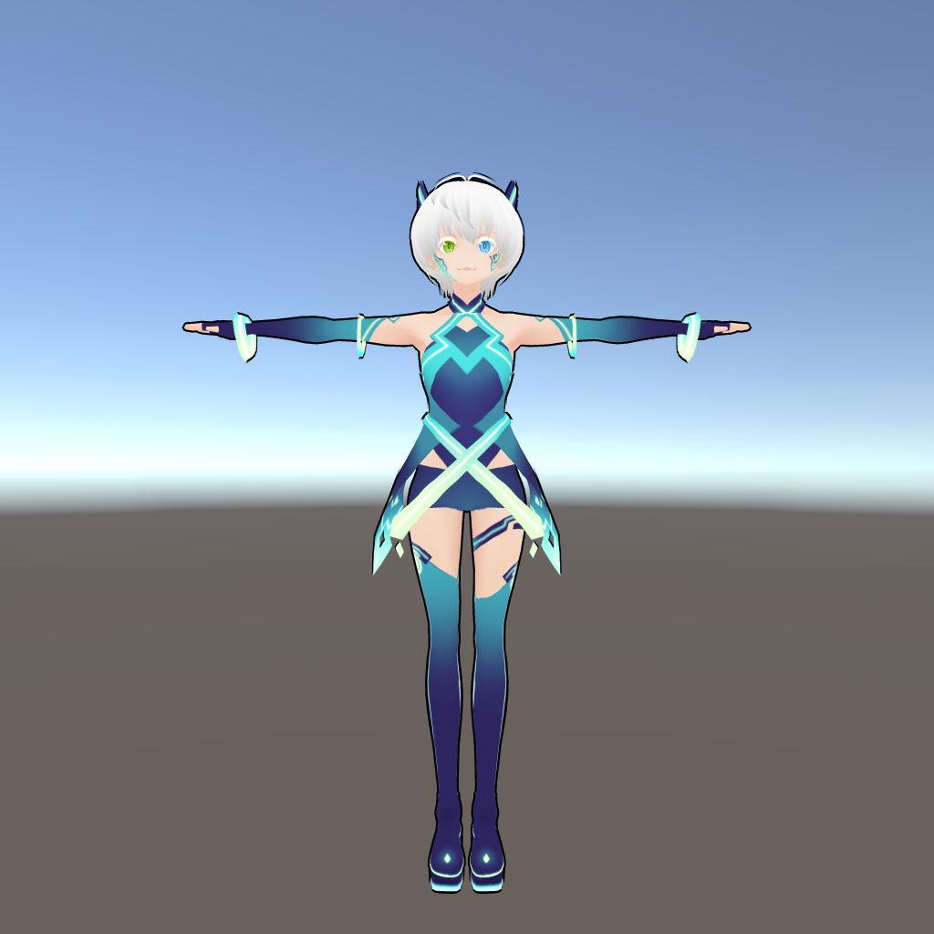【HLSL】VRoid Studioのモデルをアニメ塗りにする
